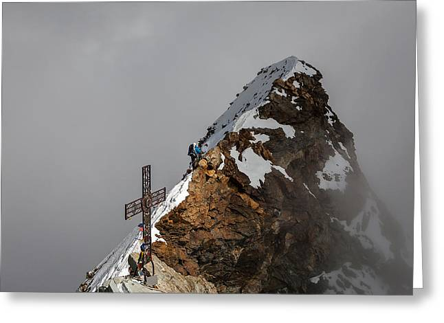 Summit Of Matterhorn Greeting Card by Konstantin Dikovsky