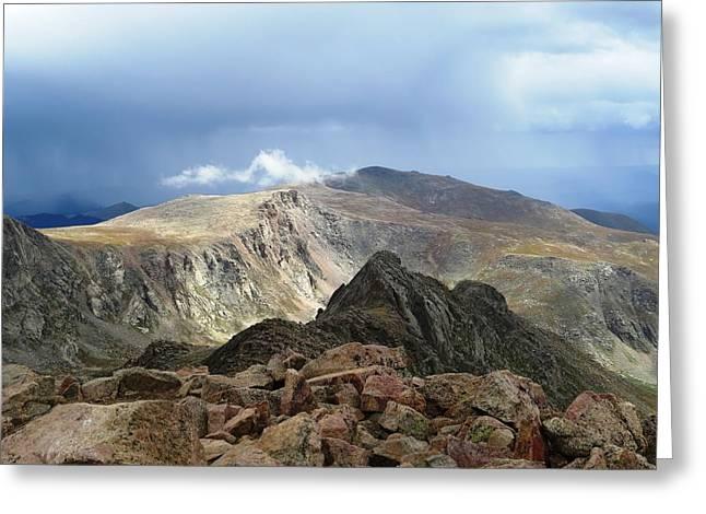 Summit Thunderstorm Greeting Card