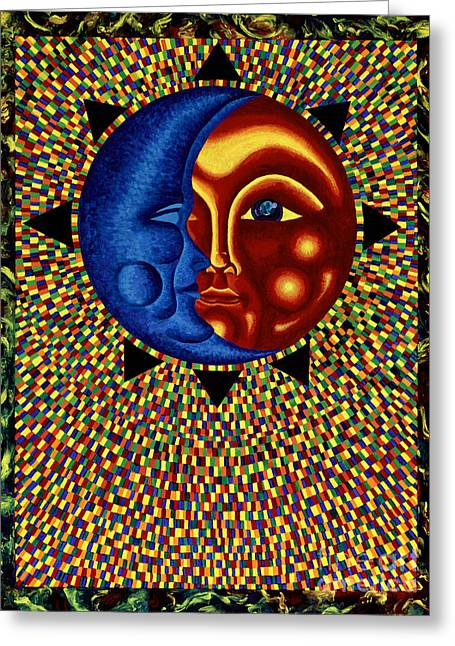 Sun And Moon II Greeting Card