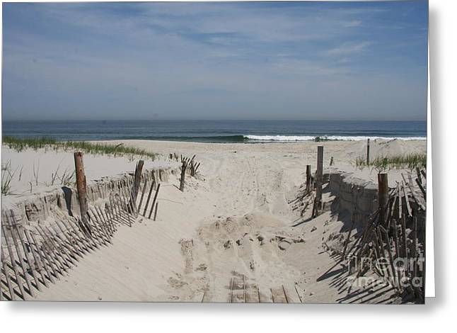 Sun And Sand Greeting Card by Christiane Schulze Art And Photography