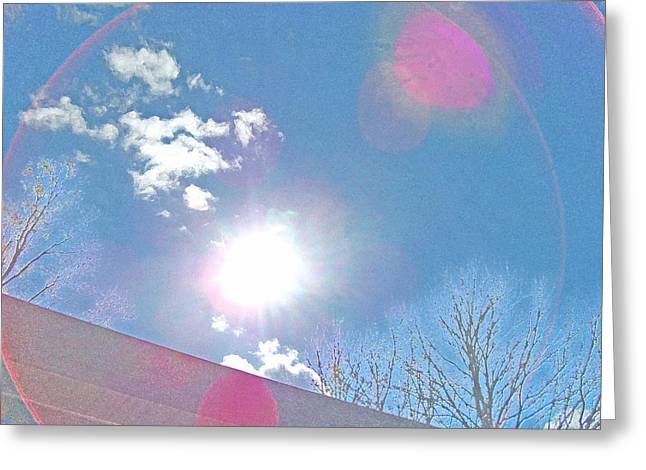 Sun Bow Greeting Card