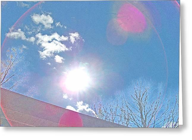 Sun Bow Greeting Card by Skyler Tipton