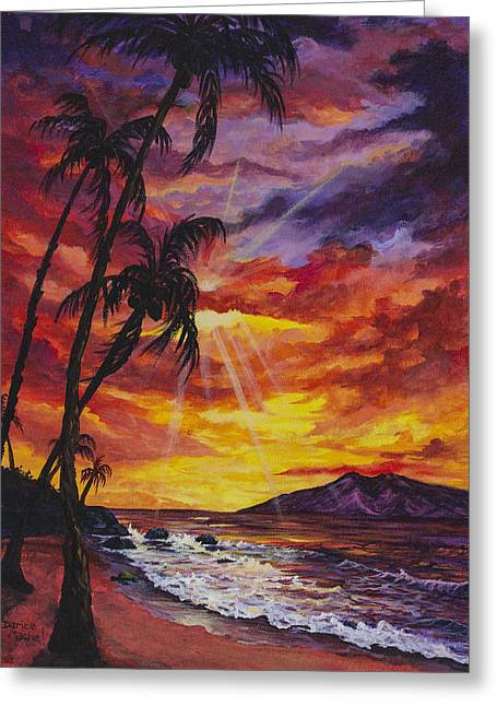 Sun Burst Greeting Card by Darice Machel McGuire