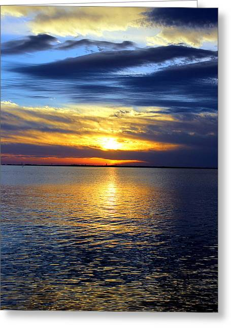 Sun Down South Greeting Card