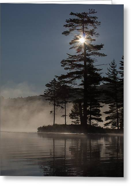 Sun Is Up At The Lake Greeting Card