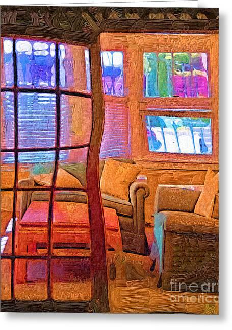 Sun Porch Greeting Card
