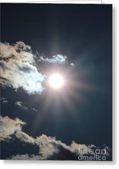 Sun Ray 2 Greeting Card by Brenda Henley