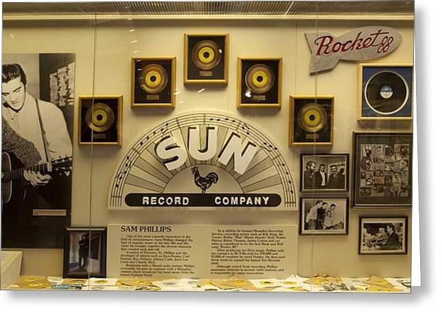 Sun Record Display Greeting Card by Mountain Dreams