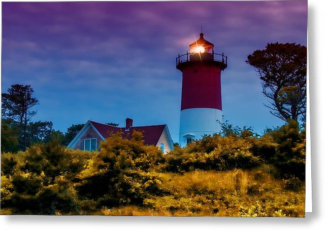 Sun Setting Inner Light Greeting Card by Jeff Folger