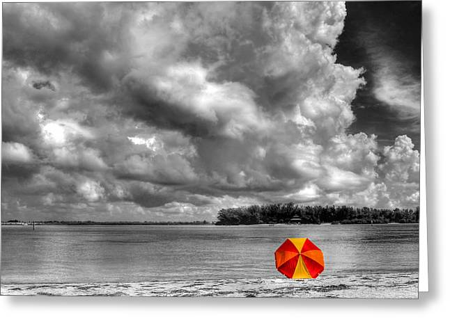 Sun Shade Greeting Card by HH Photography of Florida