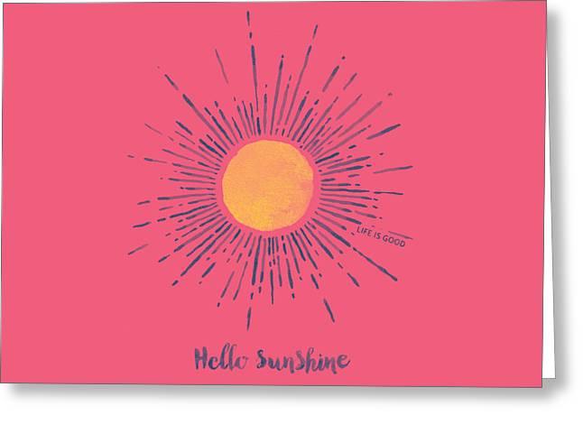 Sun Shine Greeting Card by Life is Good