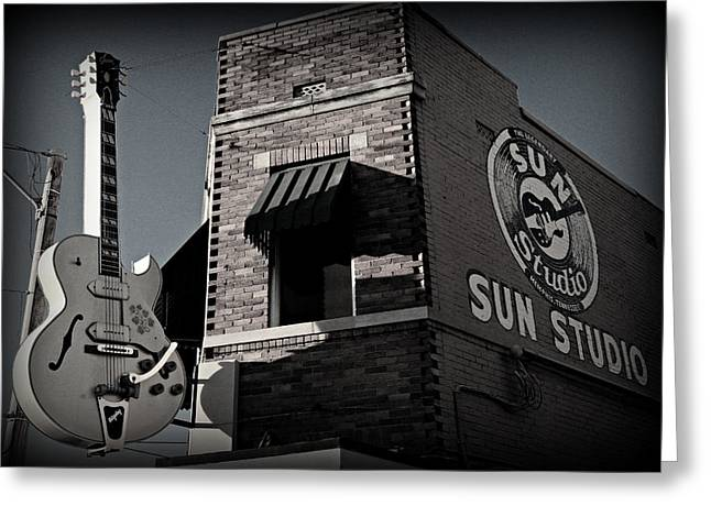 Sun Studio - Memphis Greeting Card by Stephen Stookey