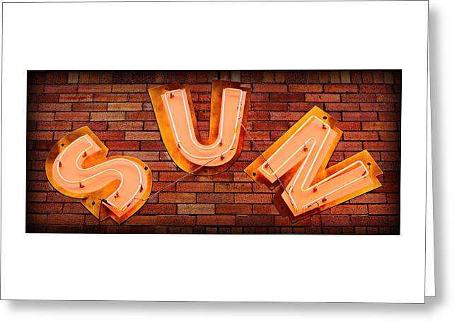 Sun Studio Neon Greeting Card