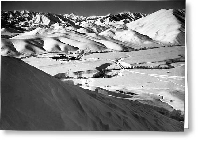 Sun Valley Opens Greeting Card