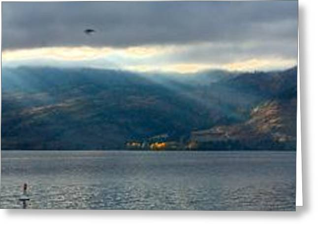 Sunbeams On The Mission Iv Greeting Card by Phil Dionne