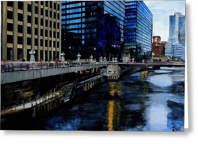 Sunday Morning In January- Chicago Greeting Card