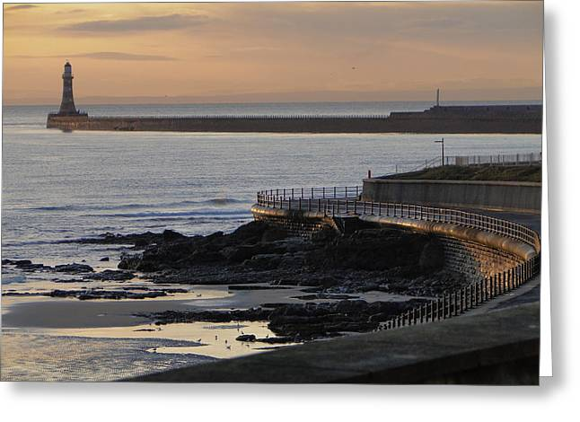 Sunderland Sunrise Greeting Card