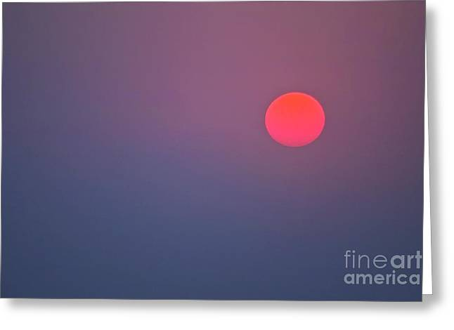 Sundown Greeting Card by Heiko Koehrer-Wagner