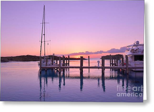 Sundown Serenity Greeting Card