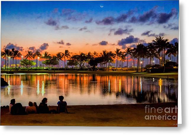 Sundowners Greeting Card by Jon Burch Photography