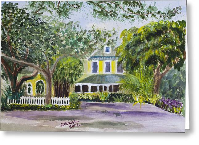 Sundy House In Delray Beach Greeting Card