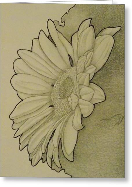 Sunflower 2 Greeting Card by Aaron El-Amin