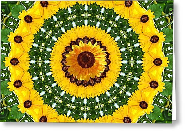 Sunflower Centerpiece Greeting Card