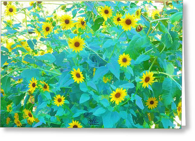 Sunflower Forest Greeting Card