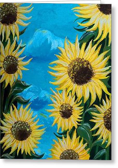 Sunflower Fun Greeting Card