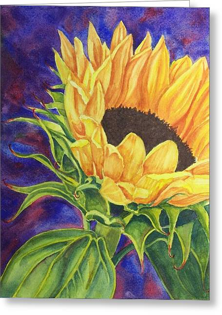 Sunflower II Greeting Card