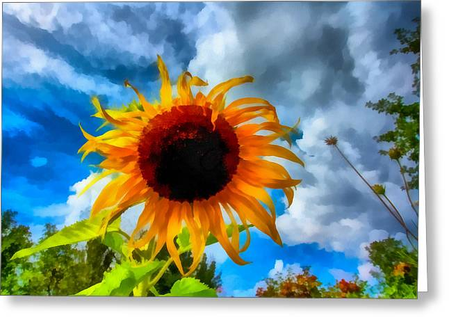 Sunflower Inspiration Greeting Card