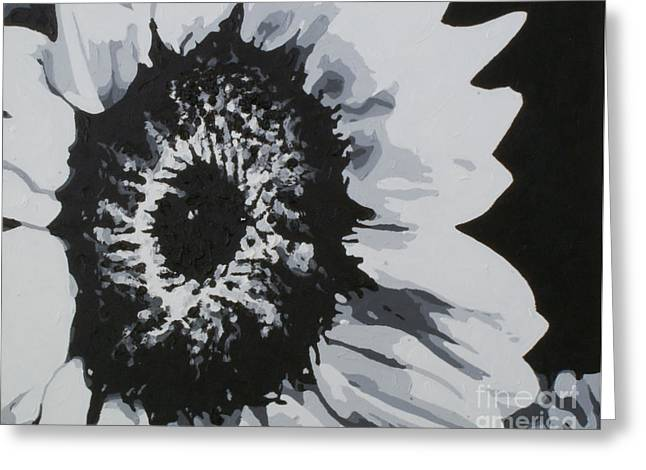 Sunflower Greeting Card by Katharina Filus