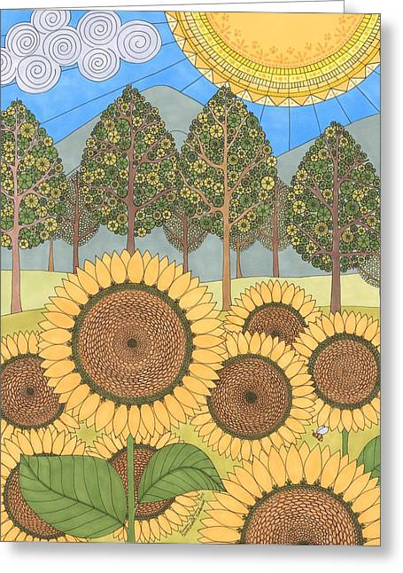 Sunflower Sunshine Greeting Card