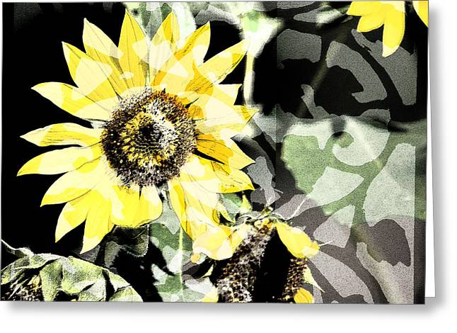 Sunflower Trellis Greeting Card