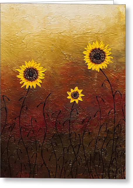 Sunflowers 2 Greeting Card
