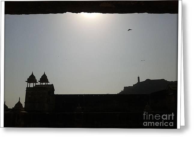 Sunfort Greeting Card by Ankit Garg