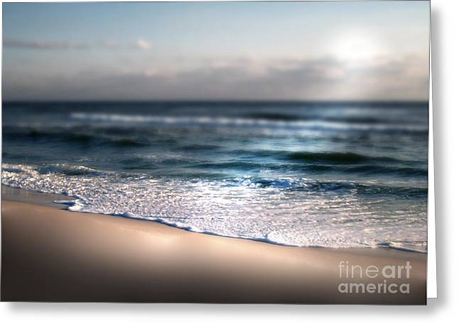 Sunlit Shore Greeting Card by Jeffery Fagan