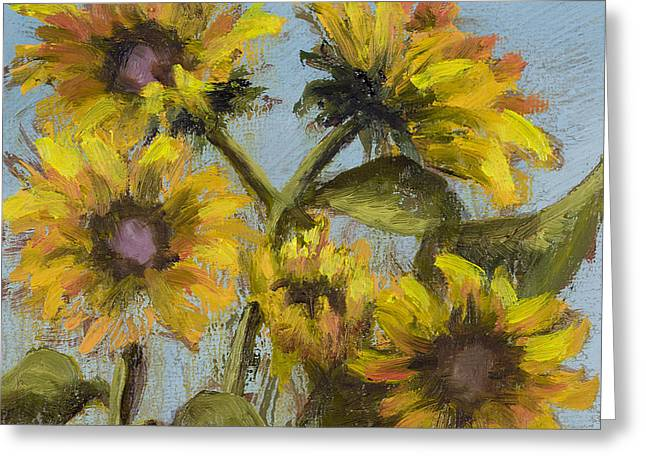 Sunnie Delight Greeting Card by Vic  Mastis