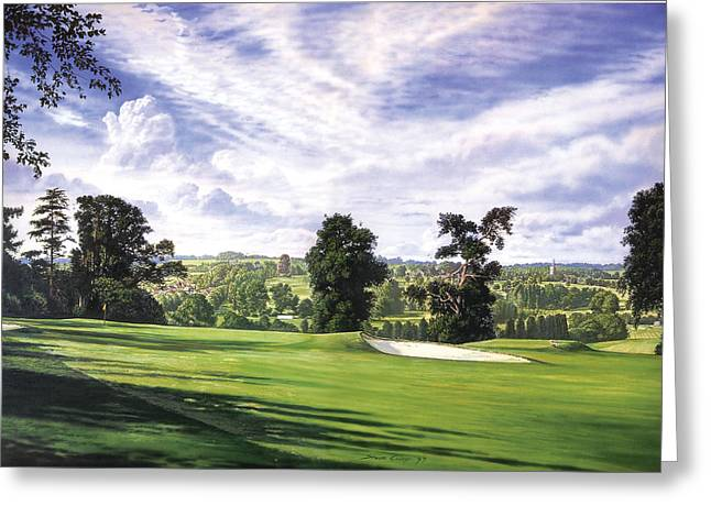 Sunny Afternoon Greeting Card by Steve Crisp