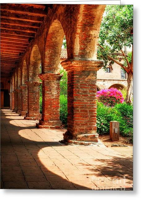 Sunny California Arches 3 Greeting Card by Mel Steinhauer