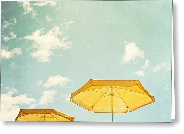 Sunny Day Greeting Card by Carolyn Cochrane