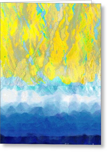 Sunny Day Waters Greeting Card