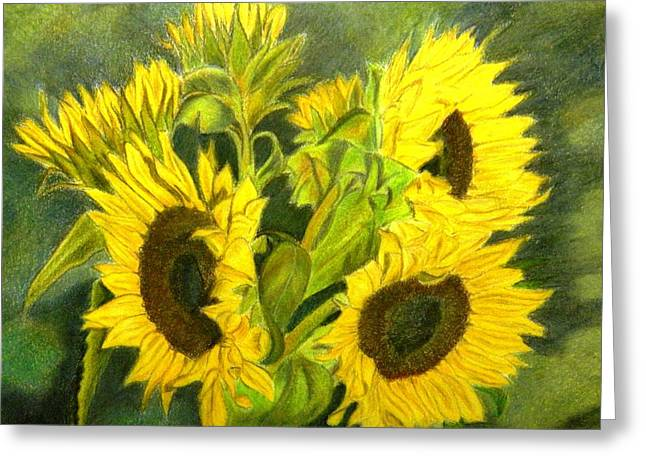 Sunny Days Greeting Card by Lori Ippolito