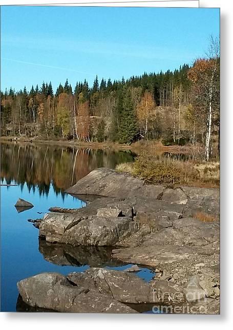Sunny Fall Greeting Card