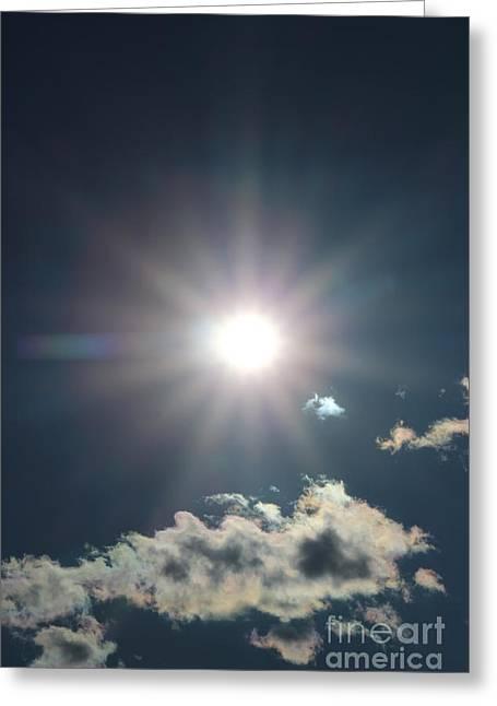 Sunray 1 Greeting Card by Brenda Henley