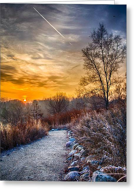 Sunrise 12-2-13 01  Greeting Card