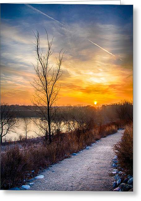 Sunrise 12-2-13 02 Greeting Card