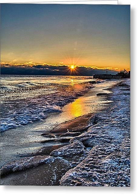 Sunrise 12-5-13 II Greeting Card