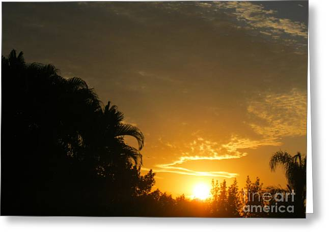 Sunrise 25 Greeting Card by Oksana Semenchenko