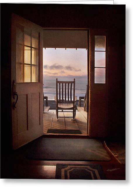 Sunrise- A Front Row Seat Greeting Card